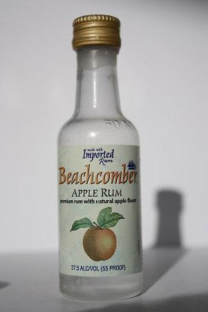 Beachcomber apple rum