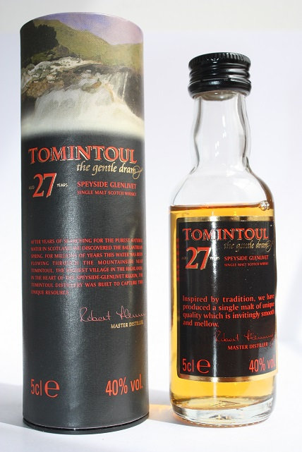 Tomintoul 27 years