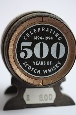 Old St.Andrew's clubhouse, celebrating 500 years of Scotch Whisky