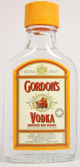 Б288. Gordon's Vodka