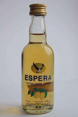 ESPERA cretan lemon liqueur
