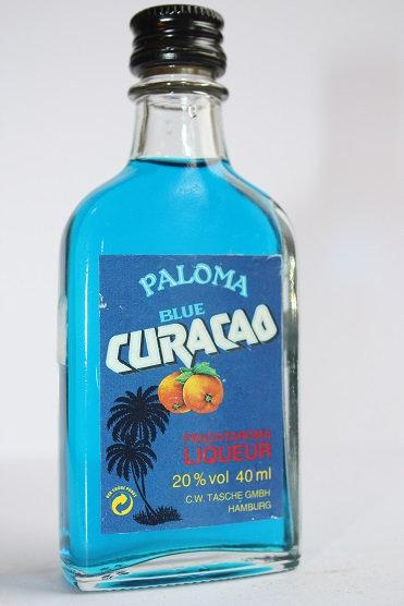Blue curacao Paloma