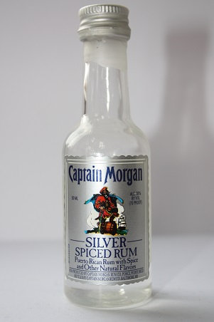Captain Morgan silver spiced rum