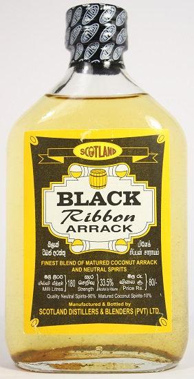 Б305. Black ribbon coconut arrack