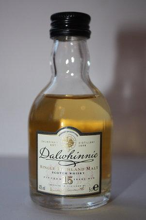 Dalwhinnie 15 years single highland malt