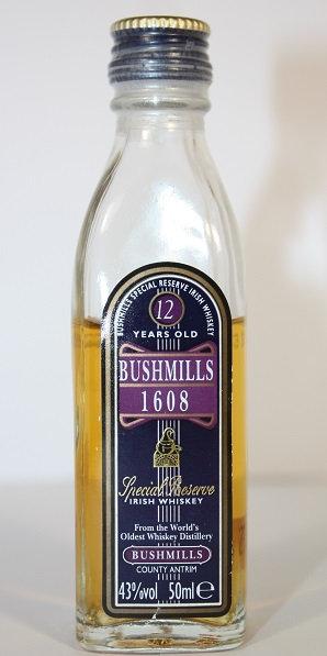 Bushmills 1608 , 12 years