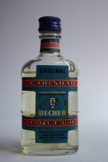 Becherovka original Carlsbad liqueur 1947