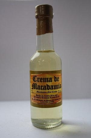 Crema de macadamia (macadamia nut crème)