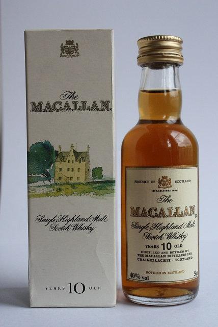 The Macallan 10 years