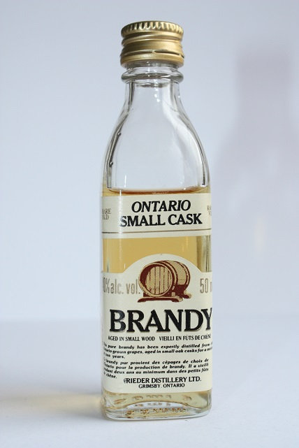 Ontario small cask brandy