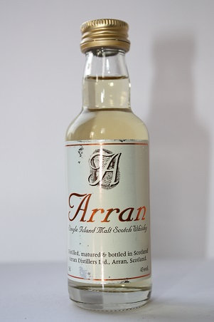 Arran single Island malt