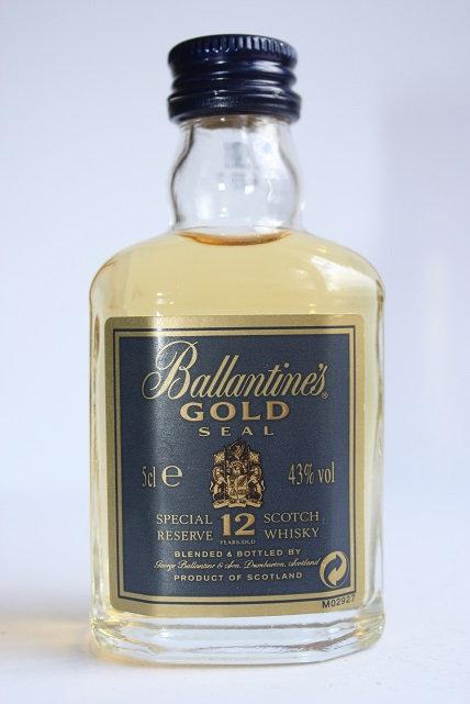 Ballantines gold seal 12 years