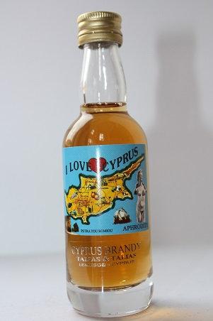 I love Cyprus brandy