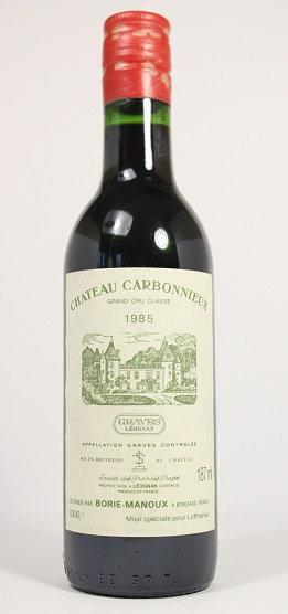 Б59. Chateau Carbonnieux crand cru classe 1985