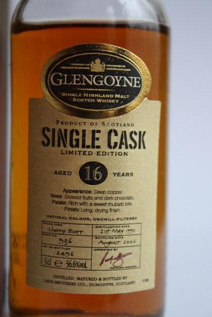 Glengoyne single cask 16 years