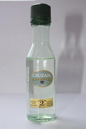 Cruzan estate light rum