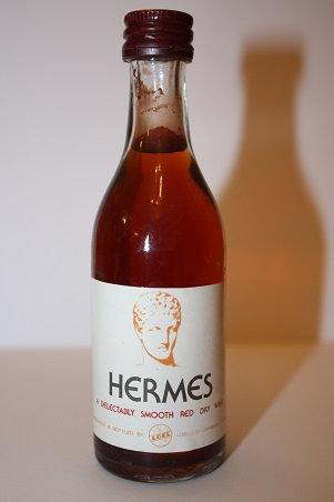 HERMES red dry wine