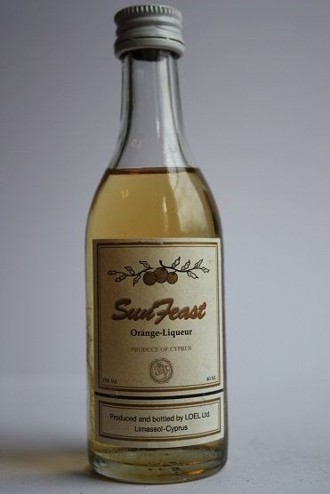 Sun feast orange liqueur