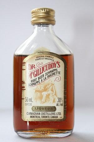 Dr. Mc. Gillicuddy's root beer schnapps