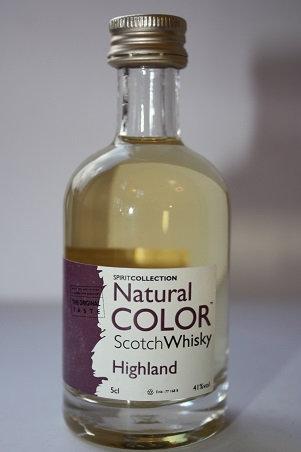 Scotch whisky Highland