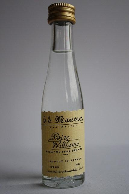 Poire Williams (williams pear brandy)
