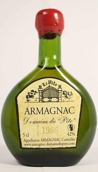 Armagnac Peto 1986