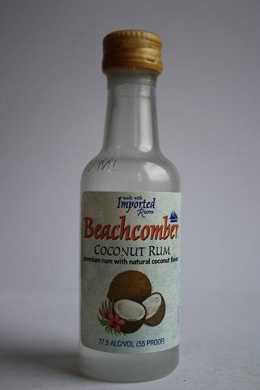 Beachcomber coconut rum