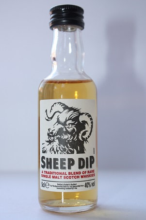 SHEEP DIP 8year old pure malt scotch whisky