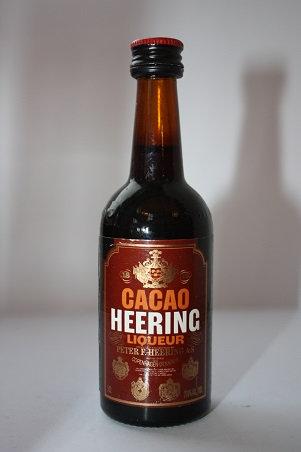 Cacao Heering liqueur
