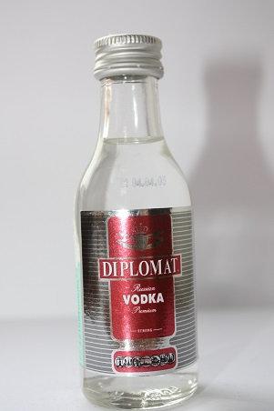 Diplomat strong russian vodka premium