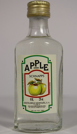Apple green schnapps