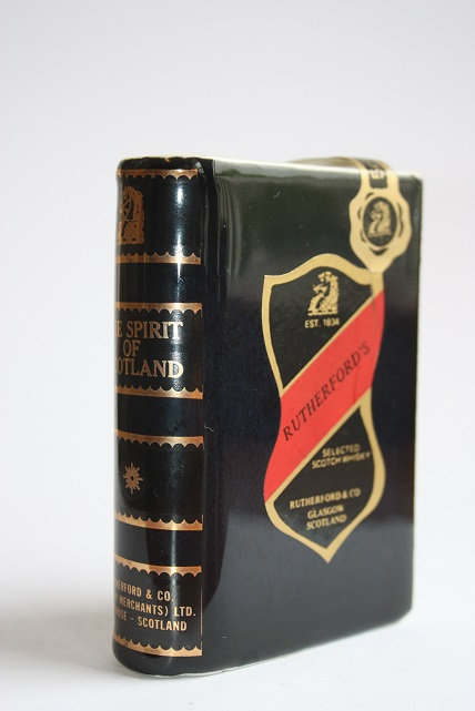 Rutherford's scotch whisky (black)