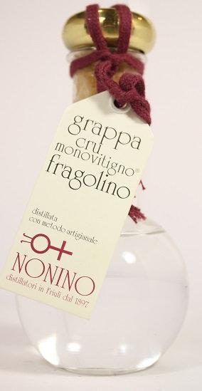Б112. Grappa cru monovitigno fragolino