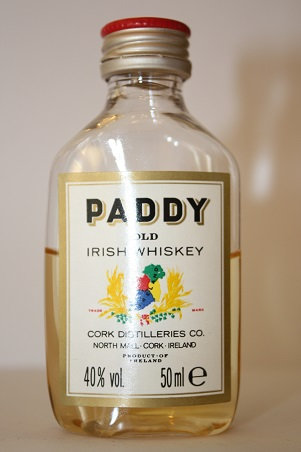 Paddy old irish whisky