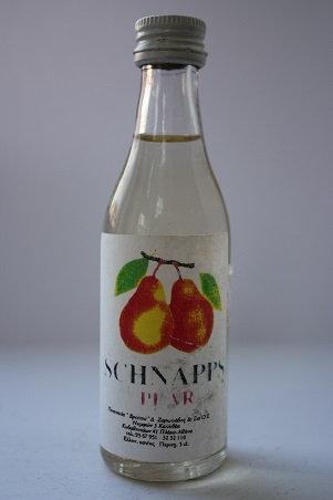 Schnapps pear