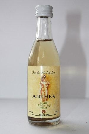 Anthea white medium dry wine
