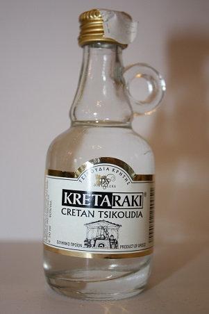 Kreta Raki tsikoudia