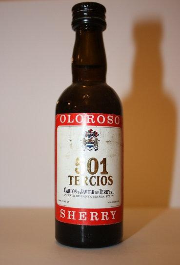 501 Tercios oloroso Sherry