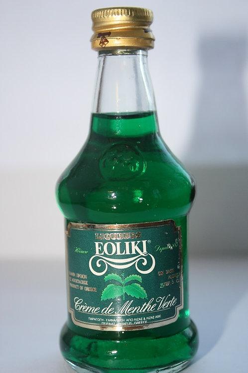 Eoliki ( crème de menthe verte)