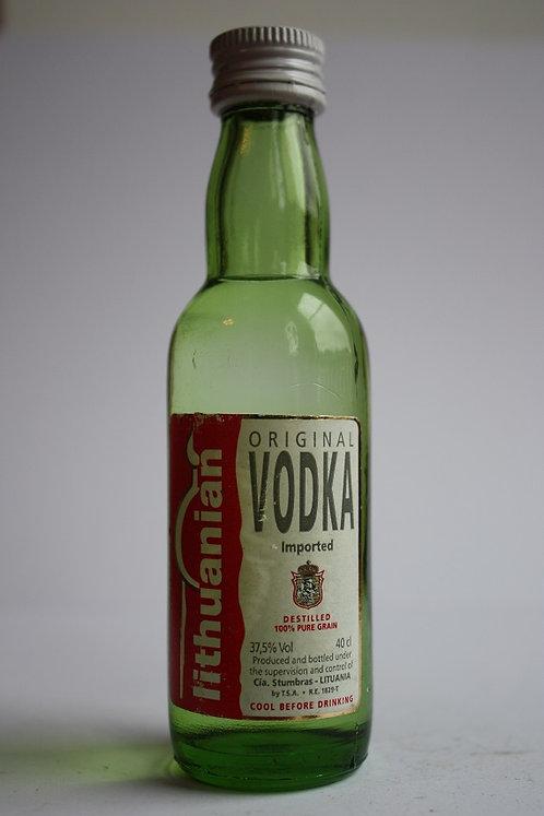 Lithuanian original vodka