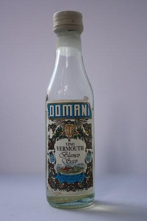 Domani vino vermouth blanco seco