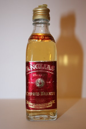 Anglias red label Cyprus Brandy