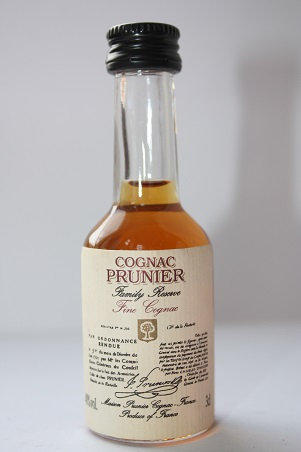 Prunier fine cognac