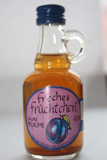 Freches Fruchtchen (saure pflaume - кислые сливы)