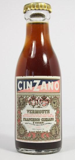 Б48. Cinzano vermouth