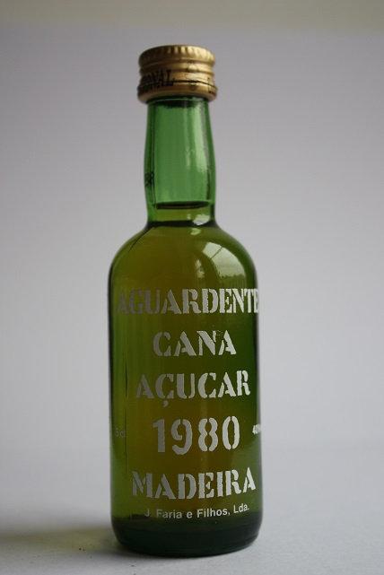 Aguardiente Cana Acucar 1980 Madeira