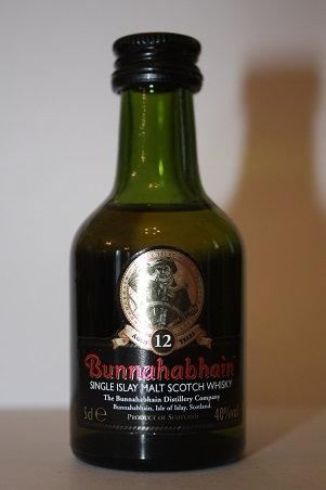 Bunnahabhain scotch whisky 12 years