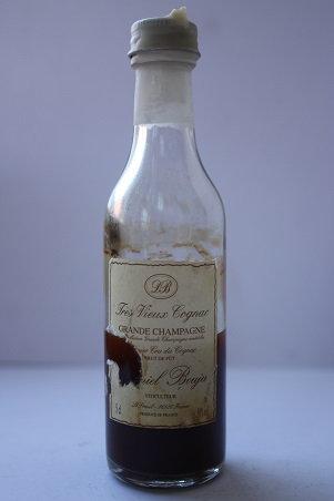Tres Vieux cognac brut de fut