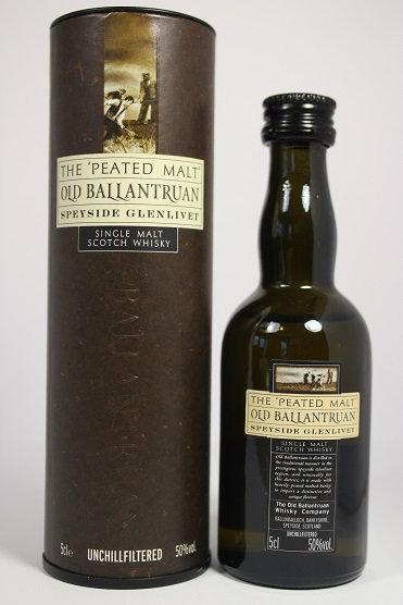 Old Ballantruan peated malt