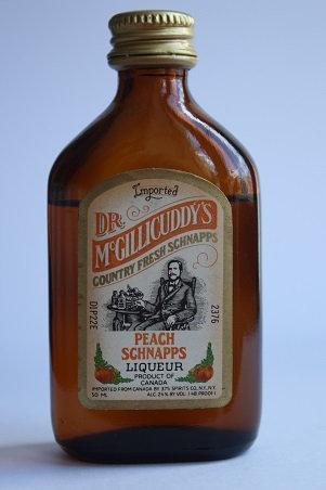 Dr. Mc. Gillicuddy's Peach schnapps